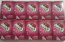 10 boxes strawberry singles to go drink