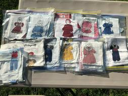 "Simplicity 18"" Doll Clothes Panels PRECUT! Ready to go!"
