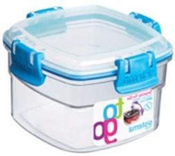 Sistema 21320 Snacks To Go Container Assorted Colors