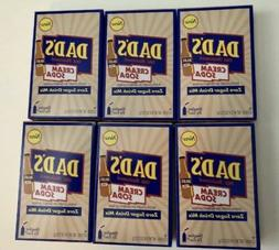 6 Boxes Dad's CREAM SODA Sugar Free Drink Mix Singles To Go