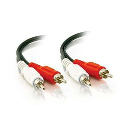 C2G 40465 Value Series RCA Stereo Audio Cable, Black