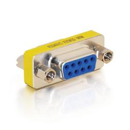 C2G 02781 DB9 F/F Serial RS232 Mini Gender Changer/Coupler,