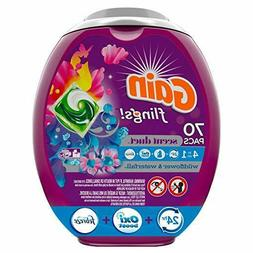 Gain flings! Laundry Detergent Pacs, Wildflower & Waterfall,
