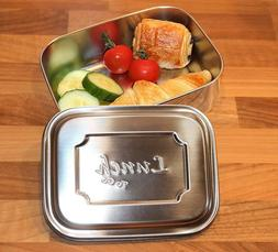 All Stainless Steel Lunch To Go Container - Dishwasher Safe