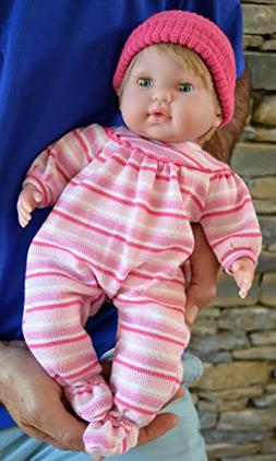 """Baby Girl""""Pam"""" with GO to Sleep Eyes- Doll Therapy for Peopl"""