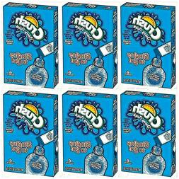 Crush BERRY PUNCH Singles to Go 6 Boxes 6 Drink Packets Per