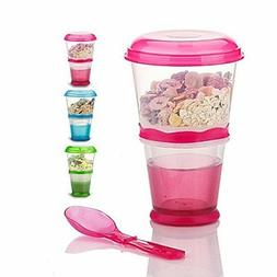 cereal on the go cups breakfast drink