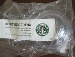Starbucks Cold To Go Cup Dome Lid Clear Fits 16 & 20 oz Cups