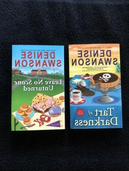 Denise Swanson, First Two Books In Chef-to-Go Series, Tart &
