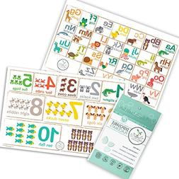 Fawn Hill Co Disposable Placemats for Children - Table Top D