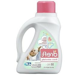 Dreft Laundry Detergent Stage 2 Active Baby - 50 Ounce