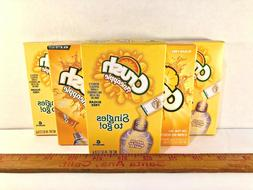 CRUSH PINEAPPLE Drink Mix Singles to Go!  36 Packets total,