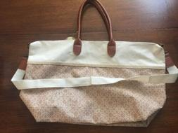 Exclusive Joann Fabrics Good-To-Go TOTE BAG Neutral Duffle