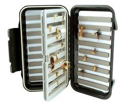 """Fly Box--Large Fishing """"Go To"""" Fly Box with Swing Leaf Cente"""
