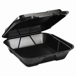Genpak Foam Hinged Carryout Container, 1 Compartment, 9-1/4x