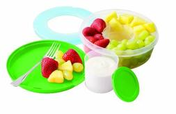Fit & Fresh Fruit & Veggie Bowl Ct