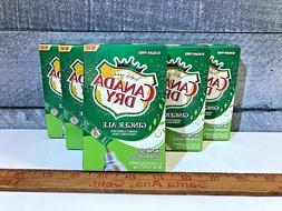 CANADA DRY GINGER ALE  SINGLES TO GO DRINK MIX Sugar-free Ke