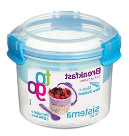 Sistema To Go Collection Breakfast Bowl Food Storage Contain