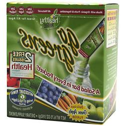 To Go Brands Go Greens Fruit -- 24 Packets