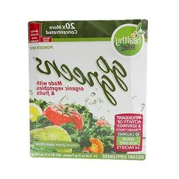To Go Brands Go Greens, 24 Count Boxes, Net Wt. 6.75oz