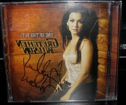 GRETCHEN WILSON ONE OF THE BOYS AUTOGRAPH CD COME TO BED U D
