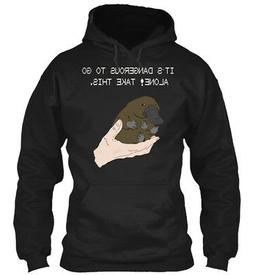 Its Dangerous To Go Alone! Take This Baby Platypus. - Gildan