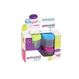 Kitchen Storage Container Salad Dressing To Go Pot Cup Dippi