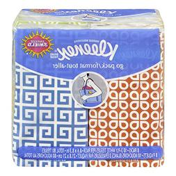 KLEENEX Facial Tissue Pocket Packs, 3-Ply, White, 10 Sheets/