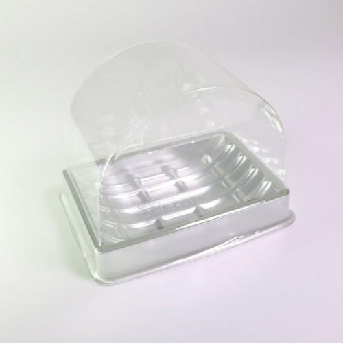 50/100 Arched Single-Serving Boxes Roll Pastry OA