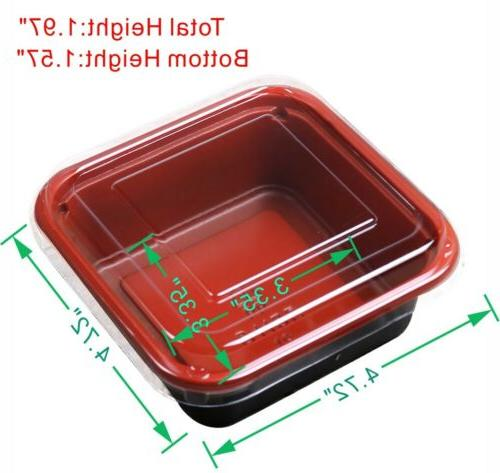 50/100 Base To-Go Cream Container Box Lid DD