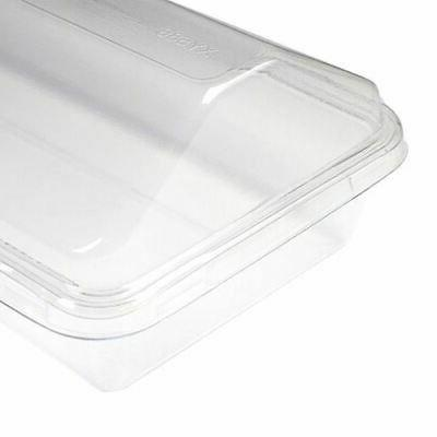 50/100 ct. Clear Plastic Cake To-go For Social
