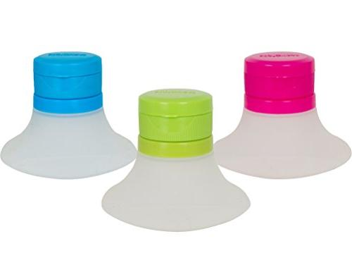 Evriholder Salad Dressing Containers, Mini Dip, Containers, Leak-Resistant, of 3 in