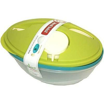 Life Story To-Go Salad Bowl Container w/ Bowl, Dressing Cup,