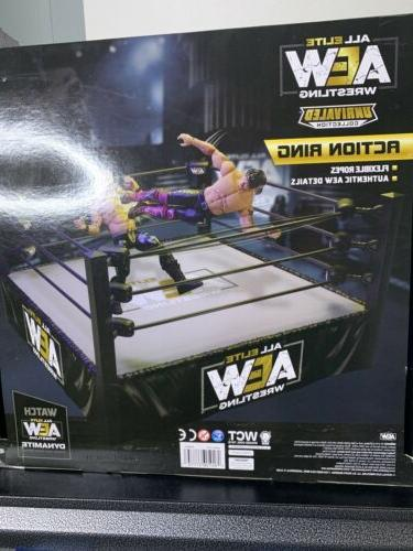 All Elite Wrestling Unrivaled Action Wrestling New Ready To