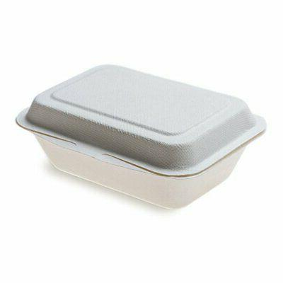 Bagasse Take Out Bagasse To Go Clamshell Durable