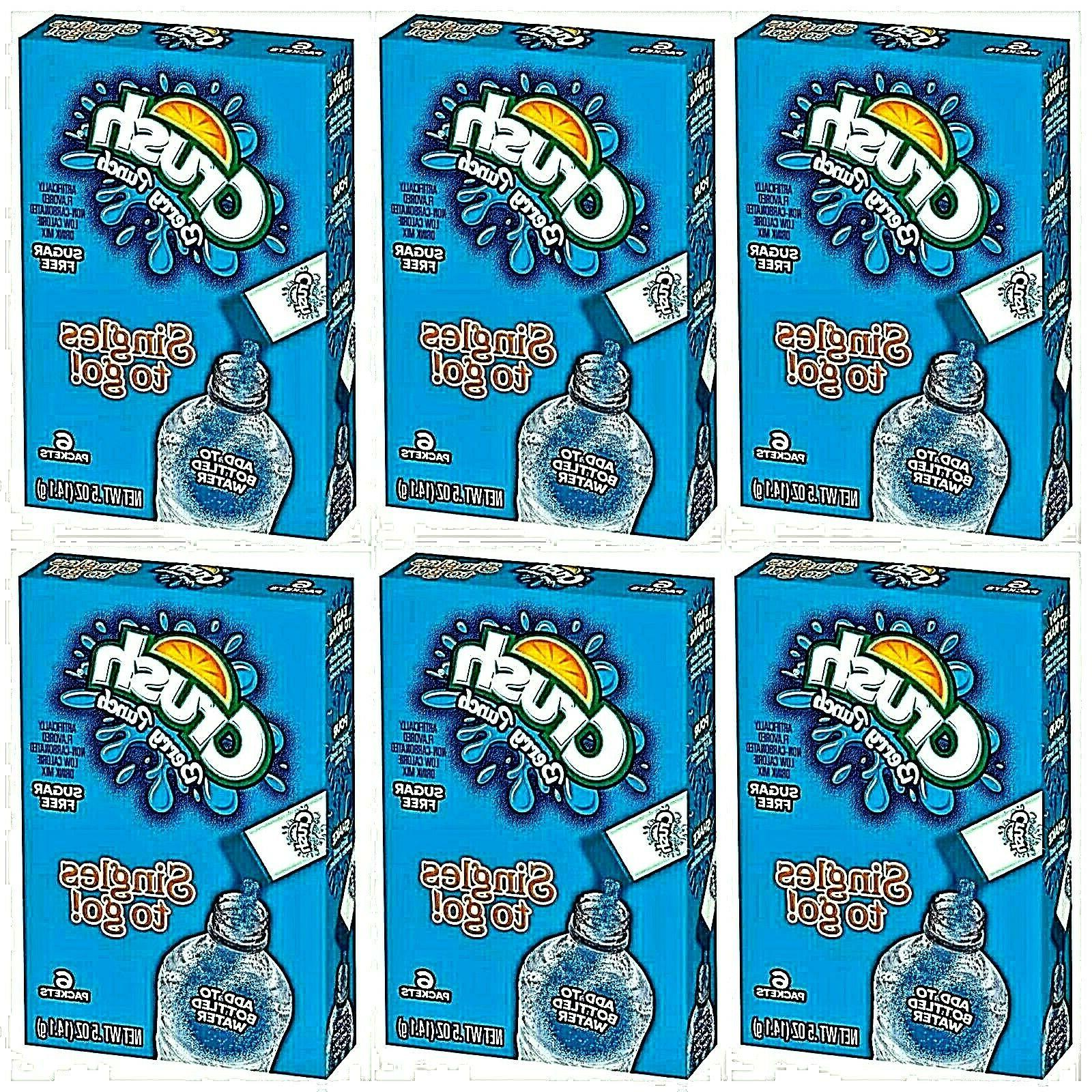 berry punch singles to go 6 boxes