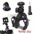 Bicycle Bike Motorcycle Handlebar Mount Holder Clamp For Gop