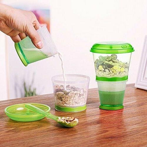 Cereal To Snack Food Storage Layer With
