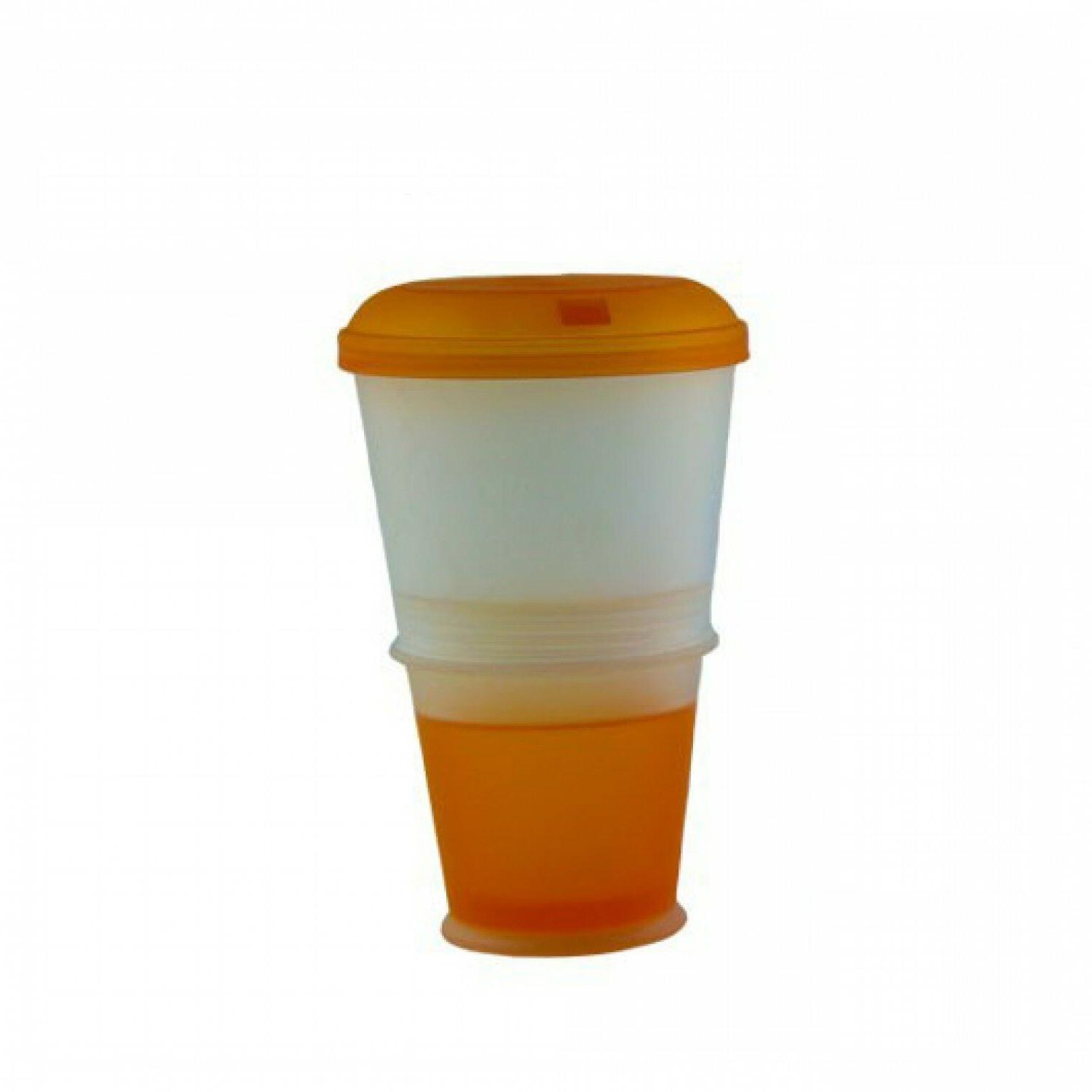 Cereal To Food Layer Cornflake Cup With Spoon