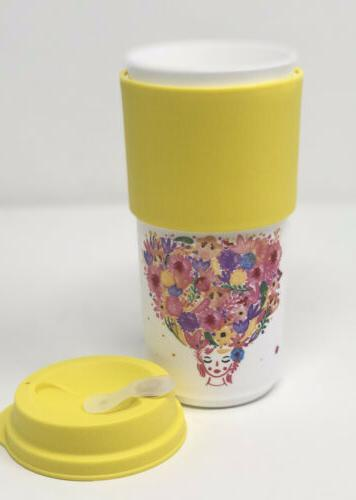 Tupperware TO MUG FLOWER NEW