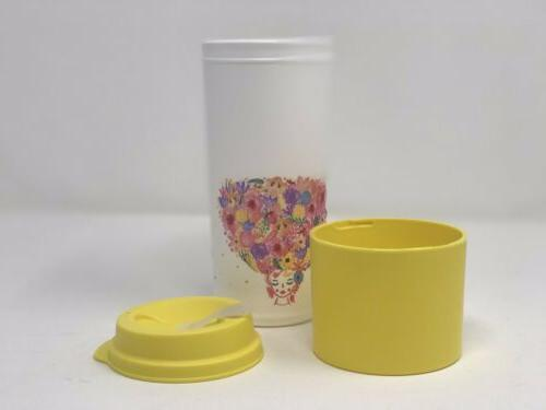 MUG 16oz FLOWER NEW