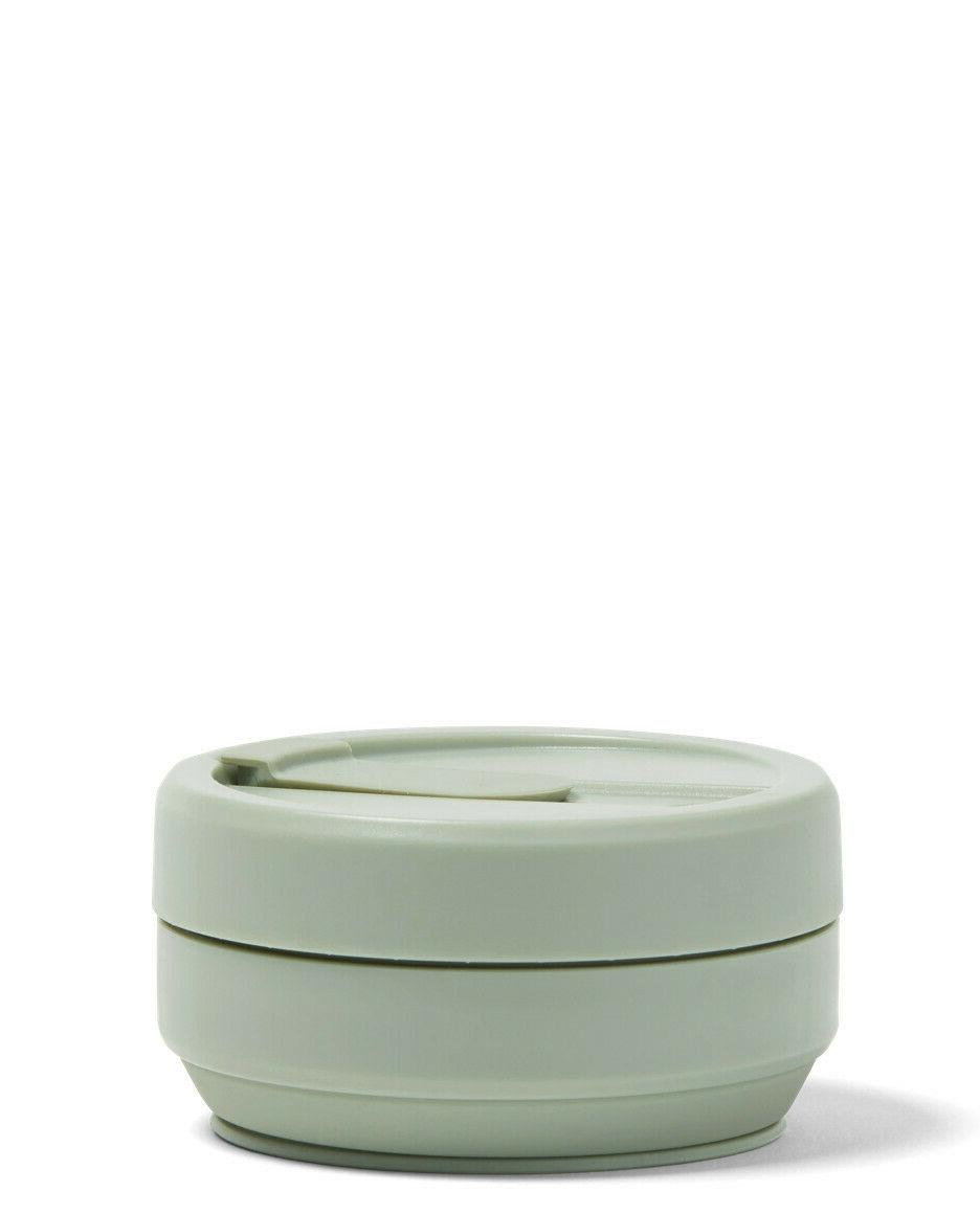 Stojo Collapsible Coffee Cup 16 Go Pocket Size Travel Cup