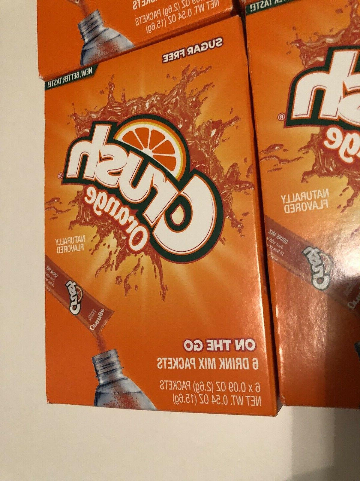 CRUSH Singles to Go! Boxes 36 Packets total,