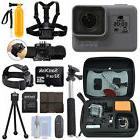 GoPro HERO5 Black Waterproof 4K Camera Camcorder + 32GB Acti