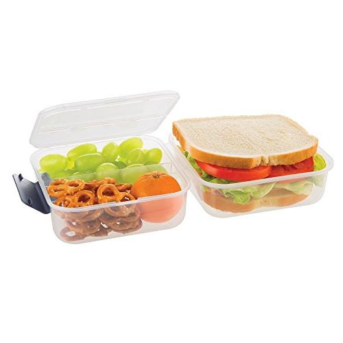 SnapLock by Lunch Cube Container Gray, BPA FREE