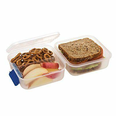 SnapLock Lunch Cube To-Go Container - Blue,