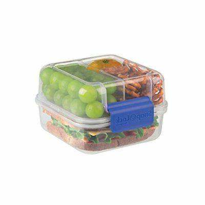 lunch cube to go container blue snl