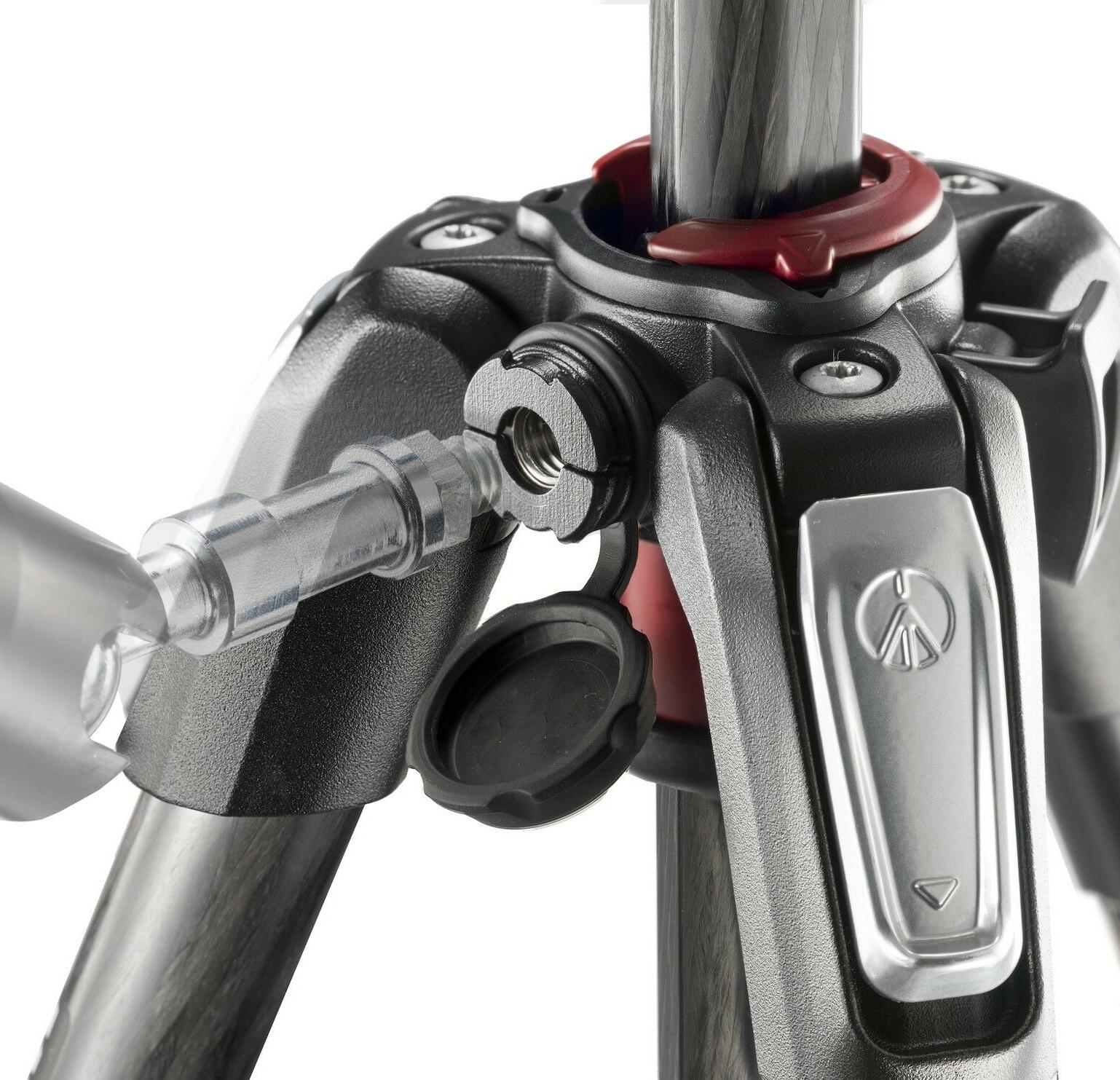 Manfrotto 190 Fibre 4 Section with