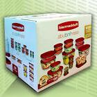 New Rubbermaid 50 piece set Easy Find Snapon LidsFood Plasti