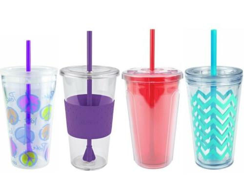reusable tumbler cold to go cup